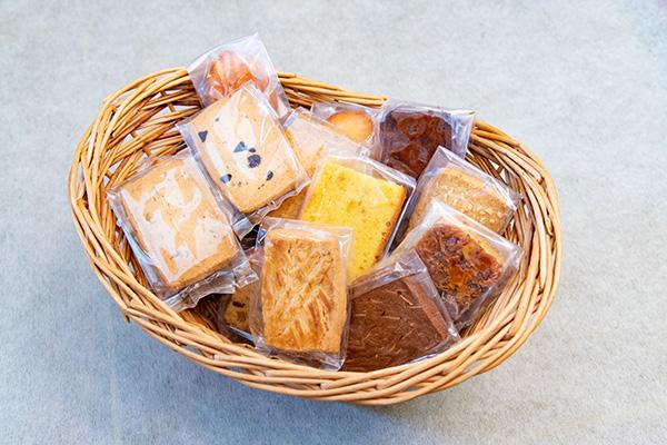 グランドルチェの焼き菓子はフレッシュバター100%